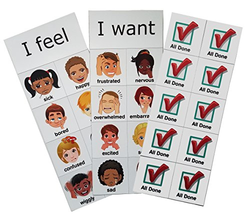 SchKIDules Accessory Pk: Feelings/Sentence Starters/All Done Checkmarks