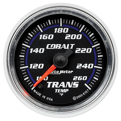 - Auto Meter 6157 Cobalt Electric Transmission Temperature Gauge