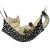 Jahoo Cat Hammock - Ideal For Cats, Ferret, Rat, Chinchilla, Rabbit, Small Dogs - Pet Cage Hammock