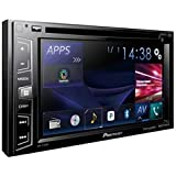Pioneer AVH-X390BS Double Din Bluetooth in-Dash DVD/CD/Am/FM Car Stereo Receiver with 6.2 Inch Wvga Screen/Sirius Xm-Ready
