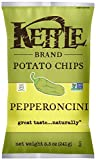kettle chip pepperoncini - Kettle Brand Potato Chips - Pepperoncini - 8.5 oz - case of 12 - Non GMO - Gluten Free