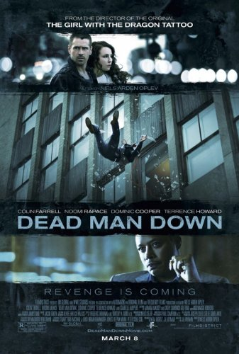 (DEAD MAN DOWN MOVIE POSTER 2 Sided ORIGINAL 27x40 COLIN)