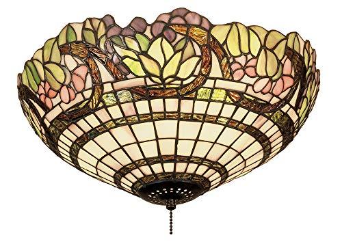 Meyda Tiffany 47608 Handel Grapevine Flush Mount, -