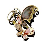 Mall of Style Bird Brooches and Pins for Women - Luxury (Butterfly)