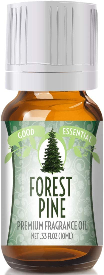 Forest Pine Scented Oil by Good Essential (Premium Grade Fragrance Oil) - Perfect for Aromatherapy, Soaps, Candles, Slime, Lotions, and More!