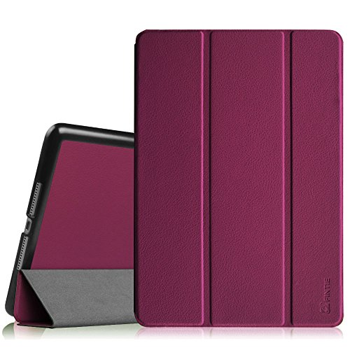 Fintie iPad Air 2 Case - [SlimShell] Ultra Lightweight Stand Smart Protective Cover with Auto Sleep/Wake Feature for Apple iPad Air 2, Purple