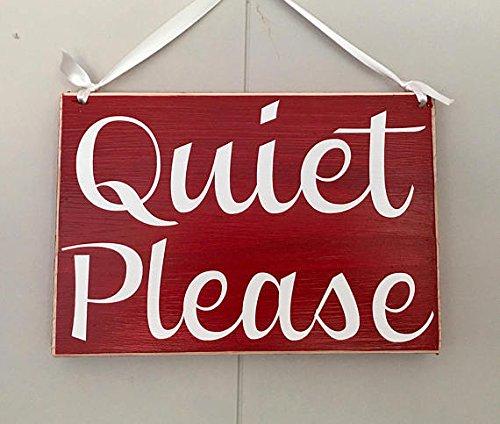 quiet please door sign - 5