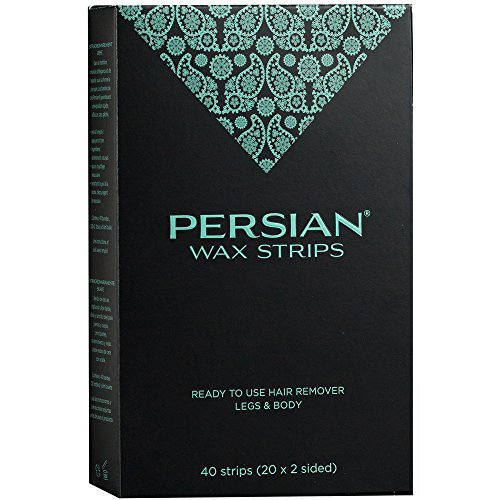 Persian Wax Strips, 40 Count