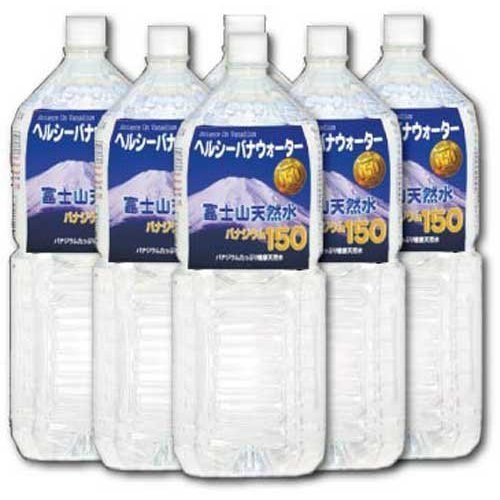 Healthy Bana water 150 2L X 6 this by Co., Ltd. Matsumoto Company