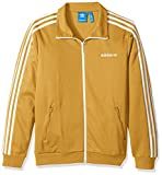 adidas Originals Men's Tops Blackbird Track, Tactile Yellow, Small