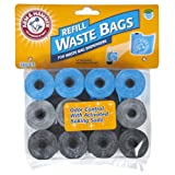 Arm & Hammer Disposable Waste Bag Refills, Assorted, 180-Pack