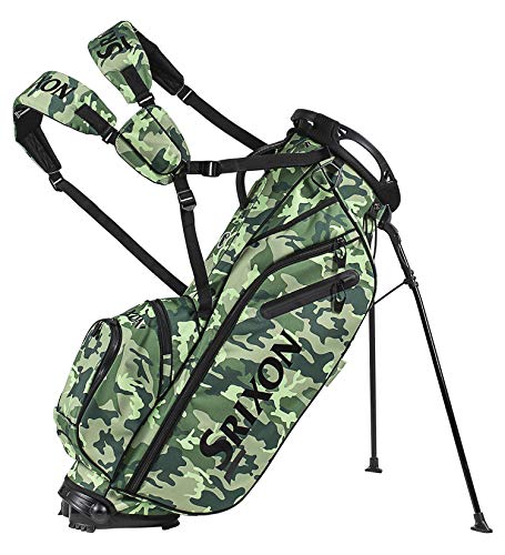 - Srixon Z85 Stand Golf Bag, Bright Green Camo