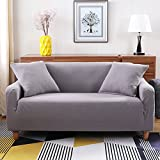 High elasticity slipcovers,Non slip pets and kids couch cover Thicken quilted sofa furniture protectors Sectional sofa throw pad-A 3 Seater(75x90inch)