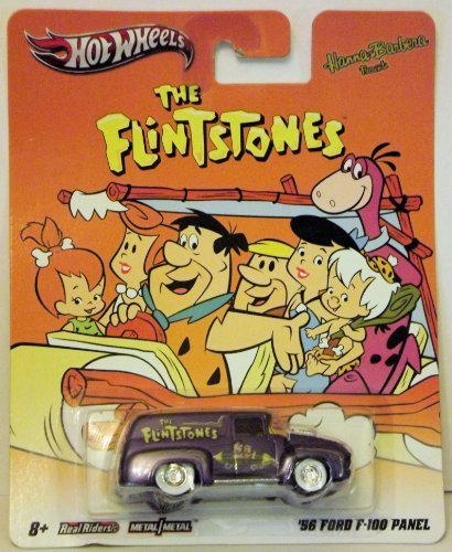 Hot Wheel The Flintstones '56 Ford F-100 Panel Truck Hanna Barbera Friends -