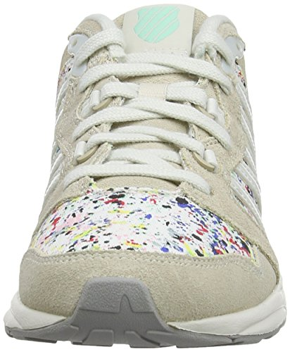 Beige Women K Swiss Beige Trainer 18 Sneakers 2 Si White M Low Top nvw6vqYSx