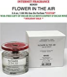 InternetFragrance] Kenzo Flower In the Air 3.4 oz / 100 ml Eau De Parfum Tester Spray For Women by (InternetFragrance) With Free Gift of Oscar De La Renta Esprit D'Oscar Mini
