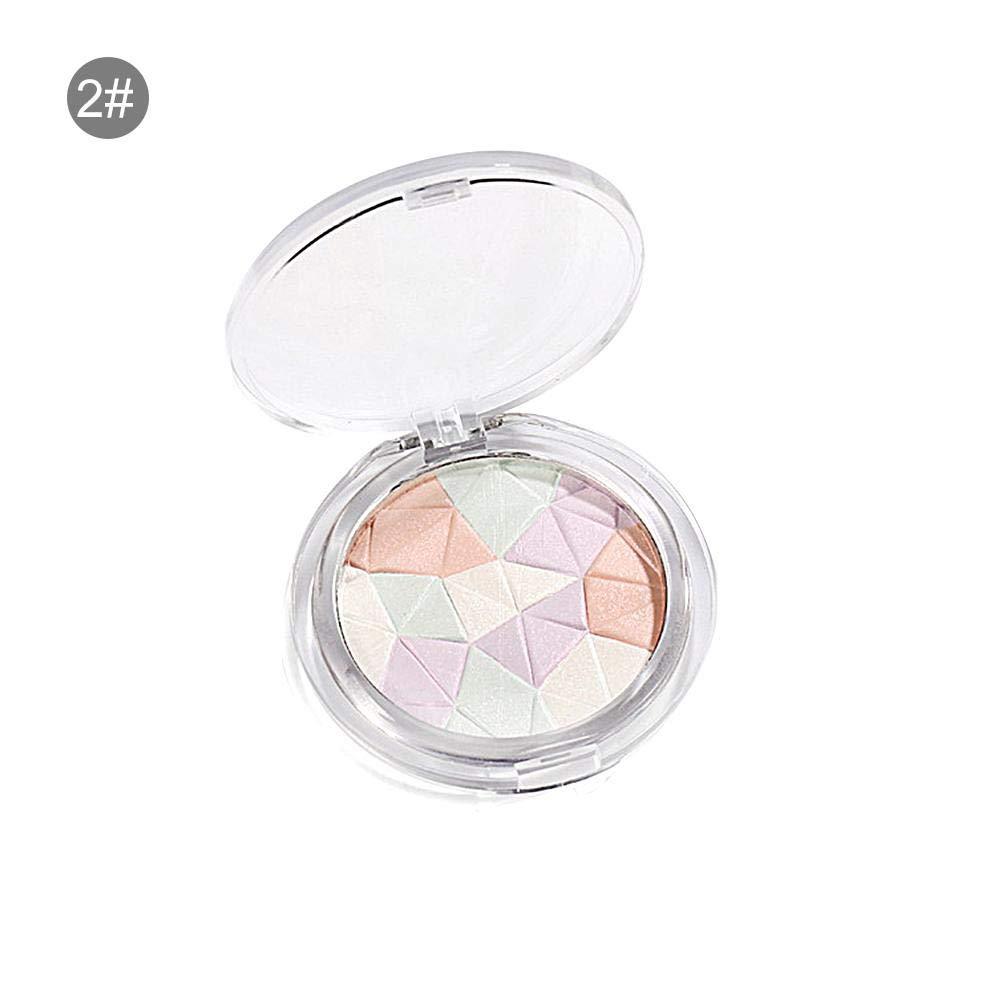 Arvin87Lyly Poudre Brillante de Couleur mélangée Diamant Brillant Poudre Brillante Disque Couleur Mixte en Trois Dimensions Délicate Multifonctionnel Pratique Modification