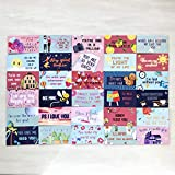 Lunch Box Notes Love Notes for Him and Her 60