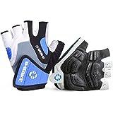INBIKE Cycling Gloves Men Mountain Bike 5MM Gel Pad Shock-Absorbing|Anti- Slip|Breathable MTB DH Road Bicycle Gloves