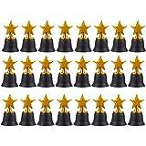 Juvale Star Trophies - Pack of 12 Mini Star
