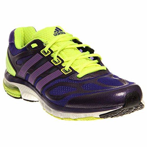 Adidas Women`s Supernova Sequence 6 Running Shoe, 11.5, BLACK / PURPLE