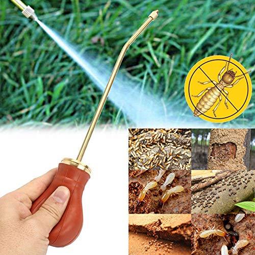 Euone  Powder bottle Clearance Sale , Pest Control Bulb Duster Sprayer Pesticide Diatomaceous Earth Powder Duster