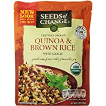 Seeds of Change Quinoa and Brown Rice with garlic , 8.5 Ounce (Pack of 6)