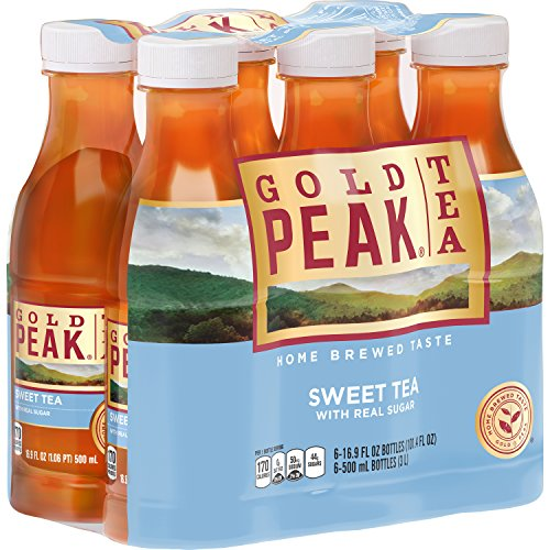 Gold Peak Sweetened Black Tea, 6 Count ()