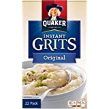 Quaker Instant Grits Original Flavor - Value Pack of 22
