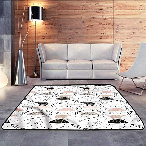 (Rubber mat,Constellation,Polar Bear on BoulderW 78.7