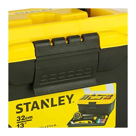 STANLEY 1-71-948 13'' Organised Maestro Tool Box with Clear top lid 6