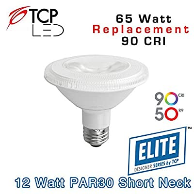 TCP Dim 12W Smooth P30S 27K 40d (LED12P30SD27KFL95) Lamp Bulb Replacement