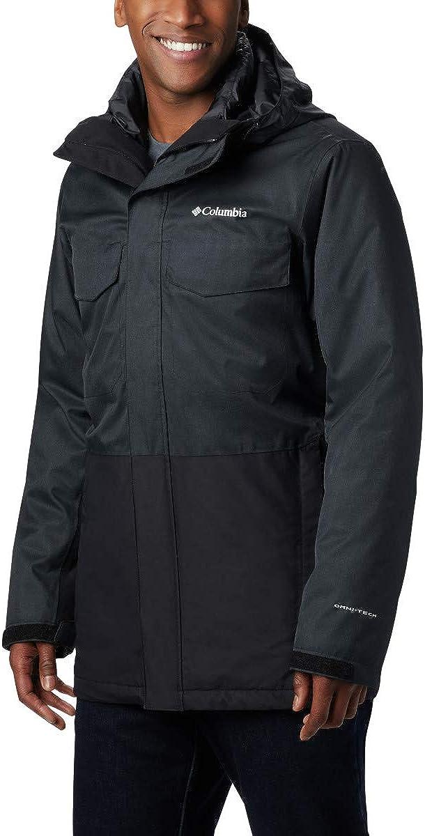 Columbia Men's Cushman Crest Interchange Winter Jacket, Waterproof & Breathable