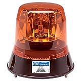 ECCO Light Duty Low Profile Amber Stealth Drive Beacon - Semi -Truck