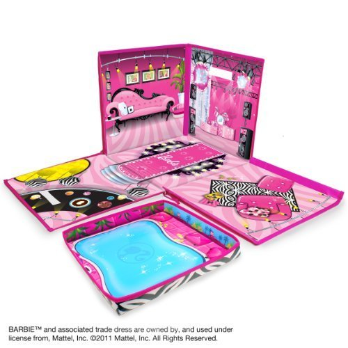 Neat-Oh Barbie ZipBin 40 Doll Dream House Toy Box & - Dolls Accessories Barbie