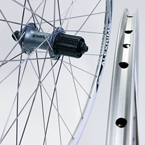 (Sta-Tru Silver Shimano 2200 8-9-10 Speed Cassette Hub Rear Wheel (700X20) )