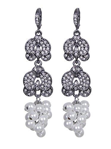 s Vintage 1920s Drop Chandelier Flapper Jewelry accessories ()