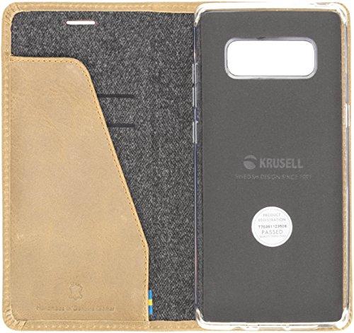 Krusell Sunne 4 Card FolioWallet Folio Beige - Fundas para teléfonos móviles (Folio, Samsung, Galaxy S9 Plus, Beige)