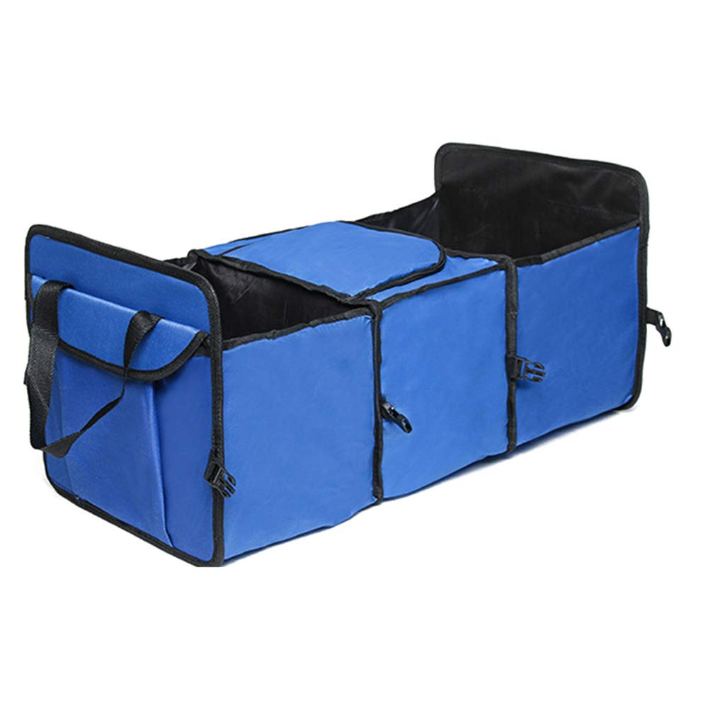 Collapsible Portable Trunk Cargo Storage Bag Containers Multifunction Insulation Bag Car Trunk Storage Organizer