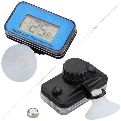 Termometro digital Pecera Acuario/Terrario de ventosa: Amazon.es: Electrónica