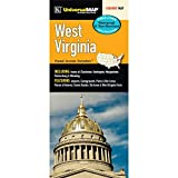 West Virginia State Waterproof Map