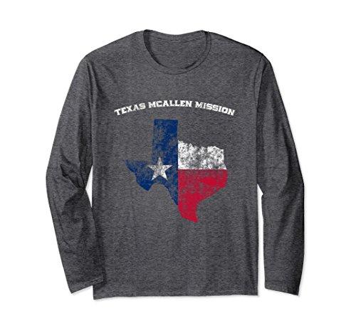 Unisex Texas McAllen Mission t-shirt Small Dark - Mcallen Shopping