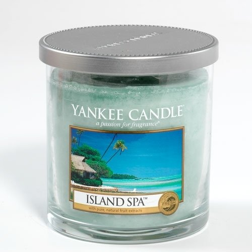 Yankee Candle Island Spa Small Tumbler Candle, Fresh Scent
