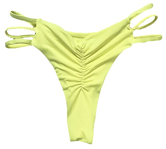 DATO Mujer Bikini Ropa Interior Vendaje Traje de Baño Tanga Brasileño Braguitas Playa Troncos de Natación