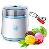 LUCKSTAR Automatic Ice Cream Maker - Homemade Yogurt & Dessert Maker Blender