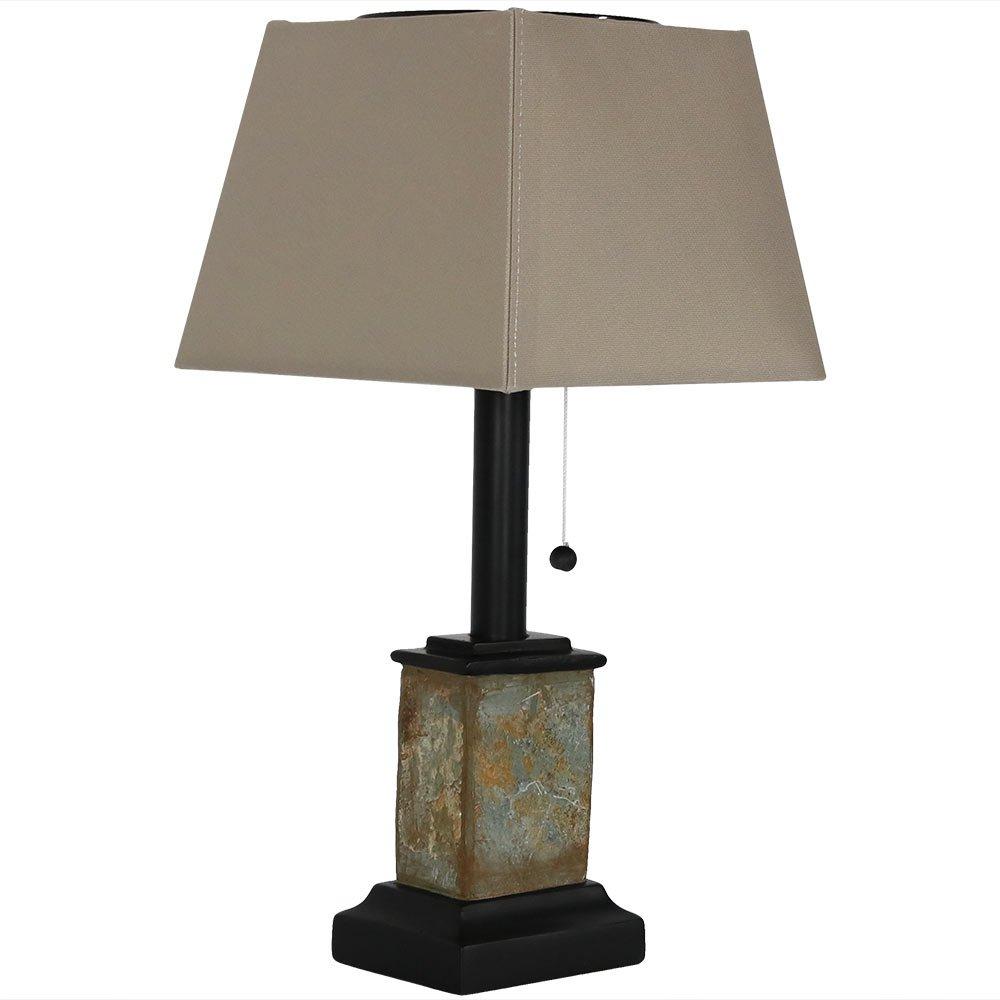 Sunny Daze Solar Outdoor Table Lamp
