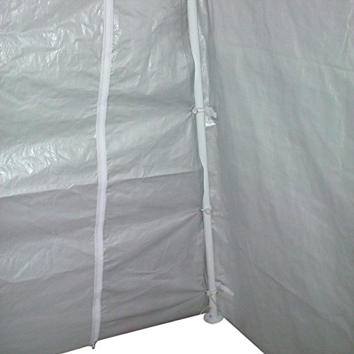 Quictent 20'X13'x10' Heavy Duty Carport Canopy Garage Shelter for Truck/ SUV/ Boat Silver by Quictent (Image #5)