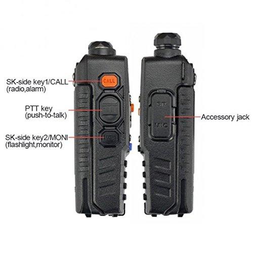 Baofeng UV5RA Ham Two Way Radio 136-174/400-480 MHz Dual-Band Transceiver (Black) by BAOFENG (Image #4)