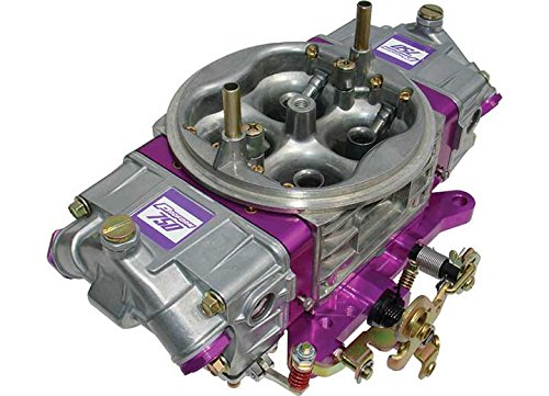 Proform 67215 Race Series 750 CFM Circle Track Dual Inlet 4-Barrel Square Bore Mechanical Secondary Carburetor with Molded Wedge ()