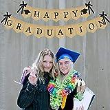 Burlap Happy Graduation Banner   Rustic Vintage